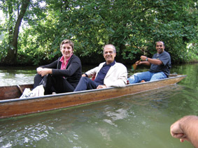 Punting in Oxford (British - Lebanese)