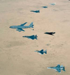 US Air Force over Iraq