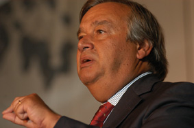 Antonio Guterres, United Nations High Commissioner for Refugees