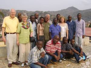 International faculty and Hope Sierra Leone staff
