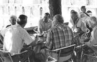 Farmers meet in Caux