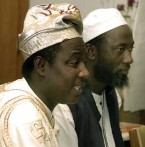 Pastor James Movel Wuye (left) and Imam Muhammed Nurayn Ashafa
