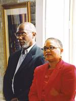 Karen Chandler and Jack McCray of the Charleston Jazz Initiative