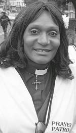 Rev. Dawnecia Palmer of the Prayer Patrol, Bristol
