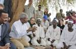 Kofi Annan and Mohamed Sahnoun in Sudan