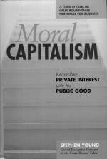 Moral Capitalism, book cover